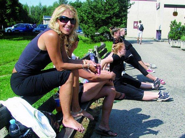 Trenérka SKMG Máj ČB Ivana Pokorná  zahájila přípravu. Její svěřenkyně Aneta Fujdiarová se chystá na MS.