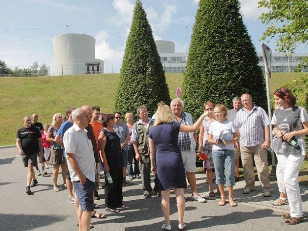 Den otevřených dveří v Jaderné elektrárně Temelín.