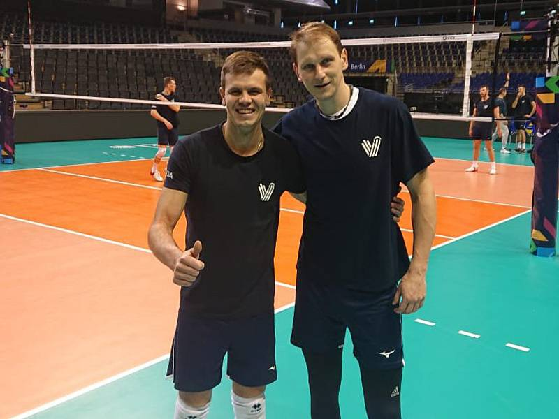 Petr Michálek a Radek Mach z Jihostroje