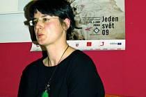 Na  snímku  Lenka Lovicarová.