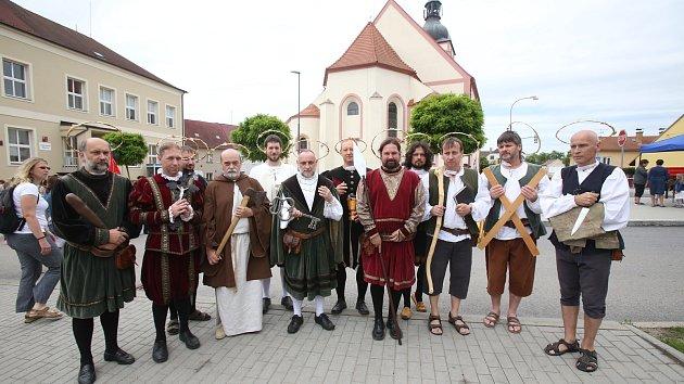 Hornické slavnosti pořádali již po dvacáté
