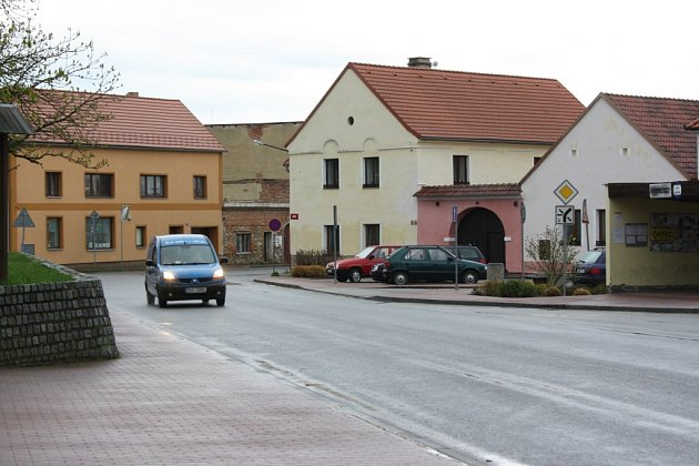 Objízdná trasa Kamenný Újezd.