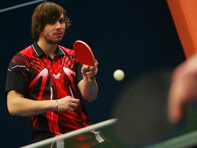 Milan Zaunmüller je lídrem prachatických stolních tenistů.