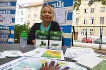 Před šesti lety začala Zuzana Mauricová (na snímku) užívat ječmen a chlorellu. Dnes se o své zkušenosti z užívání dělí s dalšími.