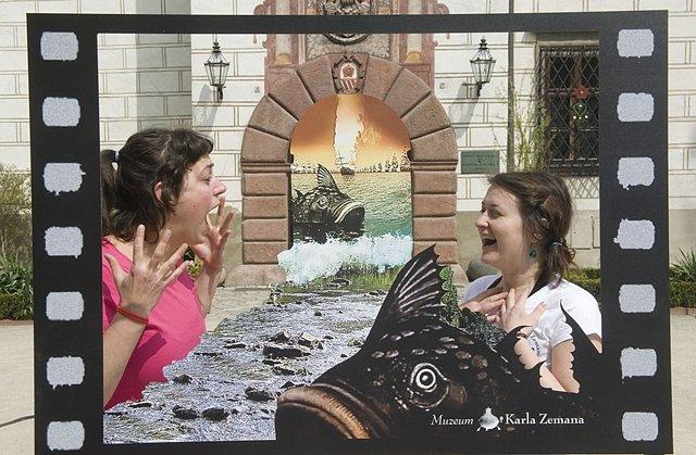 V Třeboni začal festival Anifilm. Lidé si tu mohou vyzkoušet triky Karla Zemana.