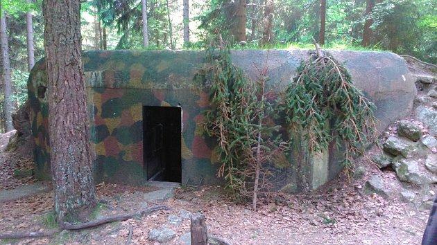 Do bunkru uKláštera se vydala Ivana Zemanová.