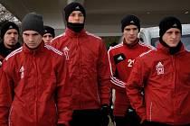 Fotbalisté Dynama nabírají síly na ligové jaro na kondičním soustředění v Třeboni.