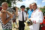 Setkání hasičů v Horním Bukovsku.