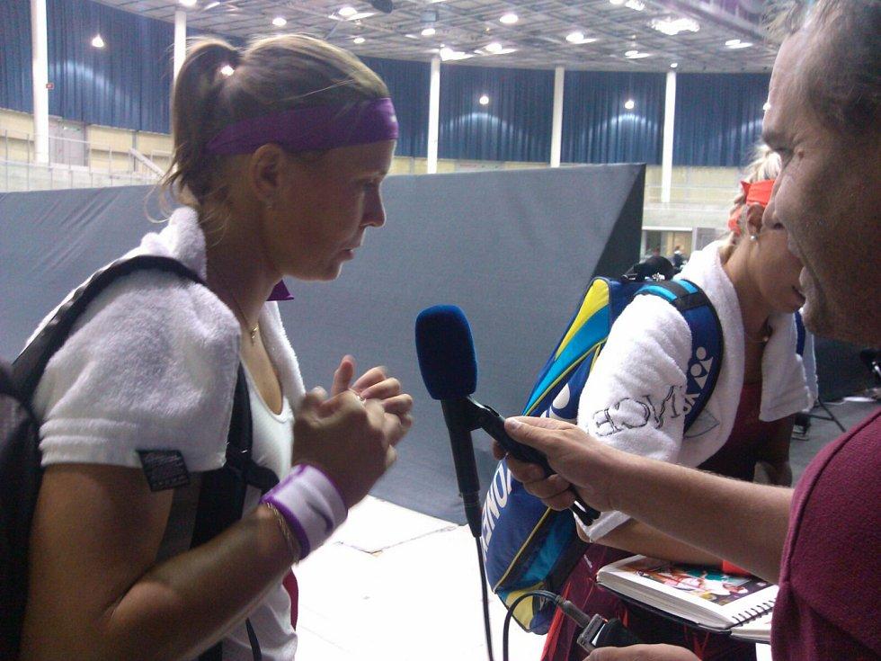 V Linci se hraje světový ženský tenis,  Lucie Hradecká