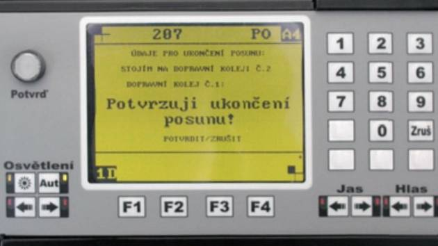 Radioblok vyvinula firma AŽD Praha s. r. o. (Automatizace železniční dopravy).