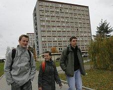 Koleje Jihočeské univerzity. Archivní foto.