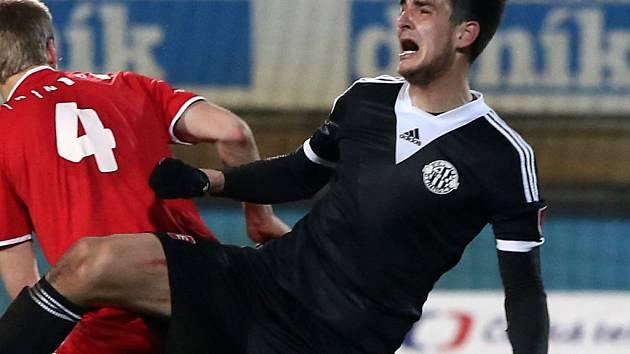 Čestný gól Dynama v Mladé Boleslavi dal Jaroslav Machovec.