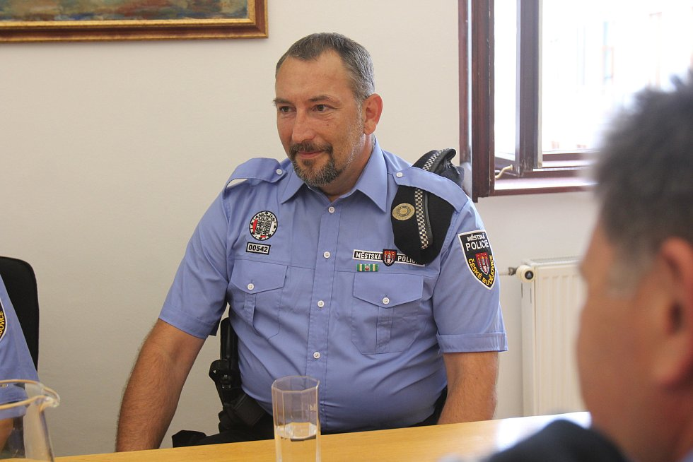 Medaile pro městské strážníky
