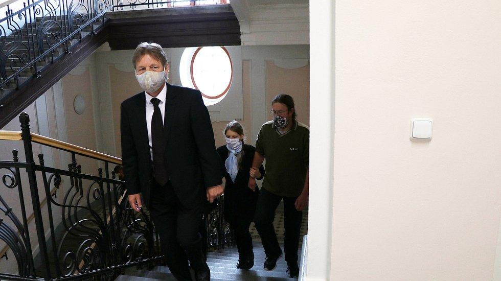 Rozsudek za vraždu dítěte u Krajského soudu v Českých Budějovicích