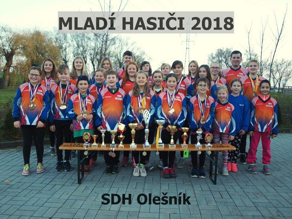 SDH Olešník byl založen v roce 1901.