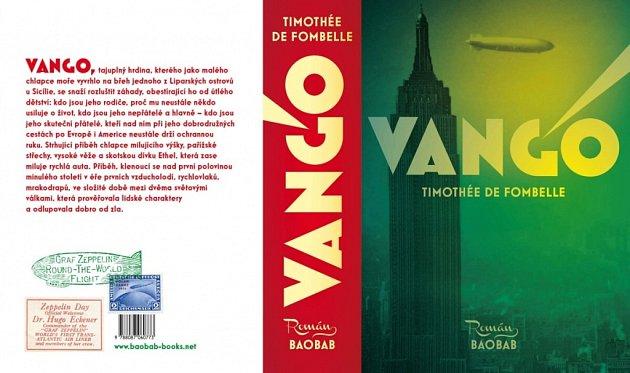 Obálka románu Vango spisovatele Timothée de Fombelle.