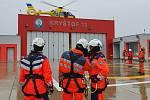 Výcvik speciálních činností Letecké záchranné služby.