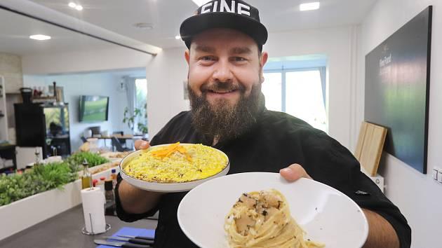 Jan Krob a jeho podzimní kuchaření.