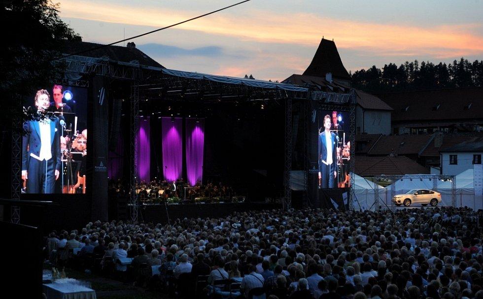 Jonas Kaufmann zahájil 18. července Mezinárodní hudební festival v Českém Krumlově.