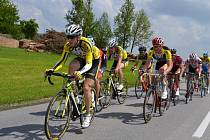 NA TRASE. Cyklisté absolvovali 150 kilometrů.