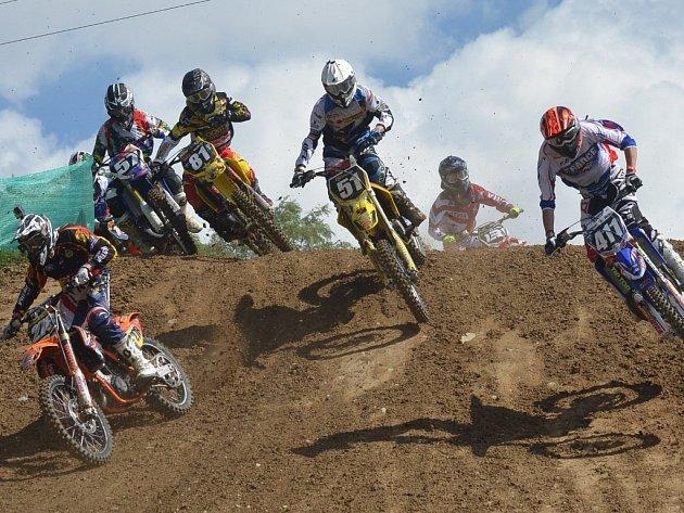 V Jiníně se jede mistrovství Evropy v motokrosu.