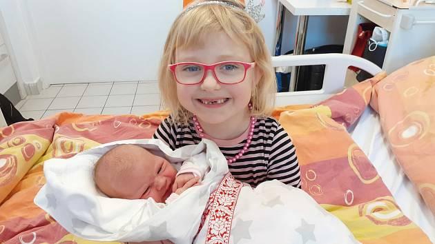 Magdaléna Vonšovská z Písku. Dcera Lucie Křížkové a Vojtěcha Vonšovského se narodila 30. 12. 2020 v 17.43 hodin. Při narození vážila 3850 g a měřila 52 cm. Doma ji přivítala sestřička Josefinka (6).