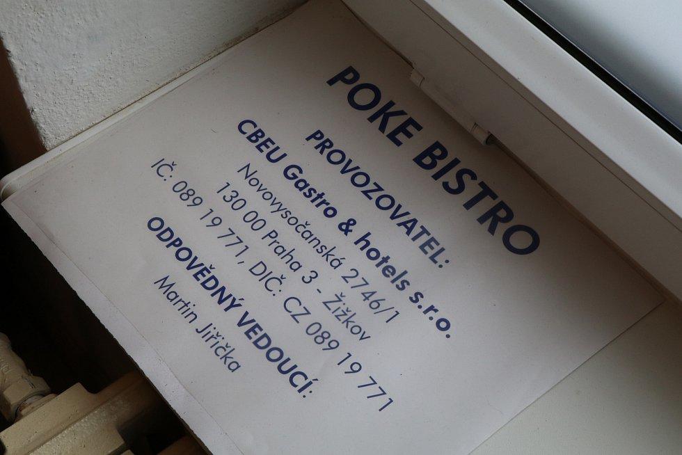 Poke bistro v Českých Budějovicích v ulici Matice školské.