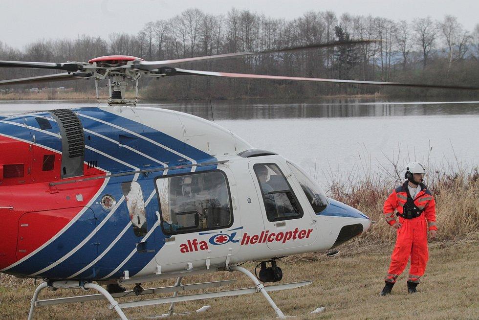 Sobotní rekonstrukci bitvy u Sudoměře přihlíželo na šest a půl tisíce diváků. Pro muže, který dostal epileptický záchvat, letěl vrtulník.