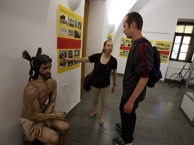Až do konce srpna můžete v radniční výstavní síni navštívit výstavu Město v nejlepších letech.