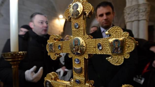 Hlavní lákadlo Zemské výstavy, Závišův kříž.