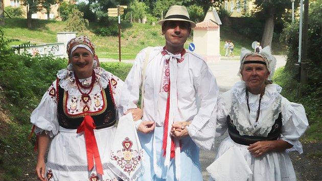 V Boršově oslavili dožínky jako za starých časů