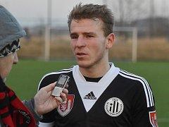 Michal Řezáč po zápase Dynama s Lincem odpovídá na dotazy Deníku jižní Čechy.
