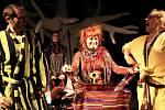 Premiéru pohádky Čarodějka Jennifer uvede v sobotu Loutkohra Jihočeského divadla v Malém divadle. Uprostřed na snímku Denisa Posekaná
