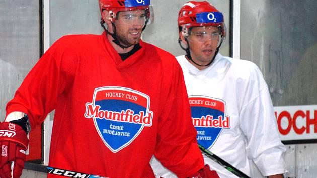 René Vydarený (vlevo) se vrací do hry