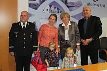 Kraj ocenil tři vítěze dopravně bezpečnostní akce.