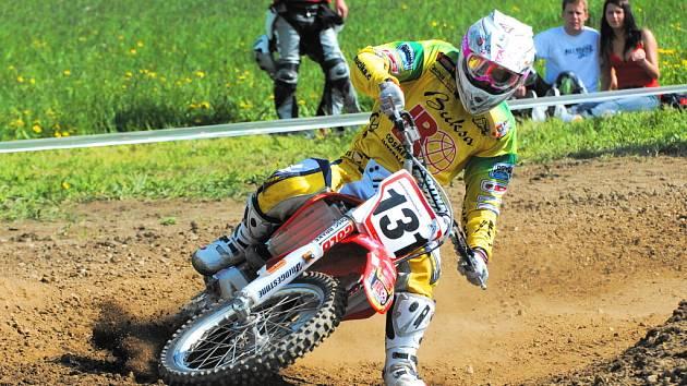 Martin Michek potvrzuje, že je velkou nadějí nejen jihočeského motokrosu a má šanci prosadit se i ve světě.
