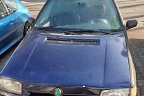Vůz, který stát nechal ekologicky zlikvidovat.