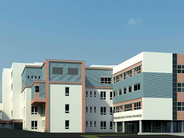 Plánovaná podoba nového pavilonu.
