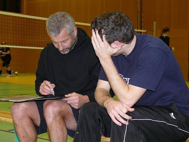 Trenér českých volejbalistek Jiří Šiller