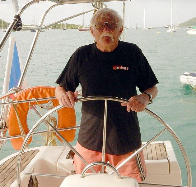 Na vodě a uvody se Petr Vitoň cítí jako ryba ve vodě. Stejně tak skamerou.
