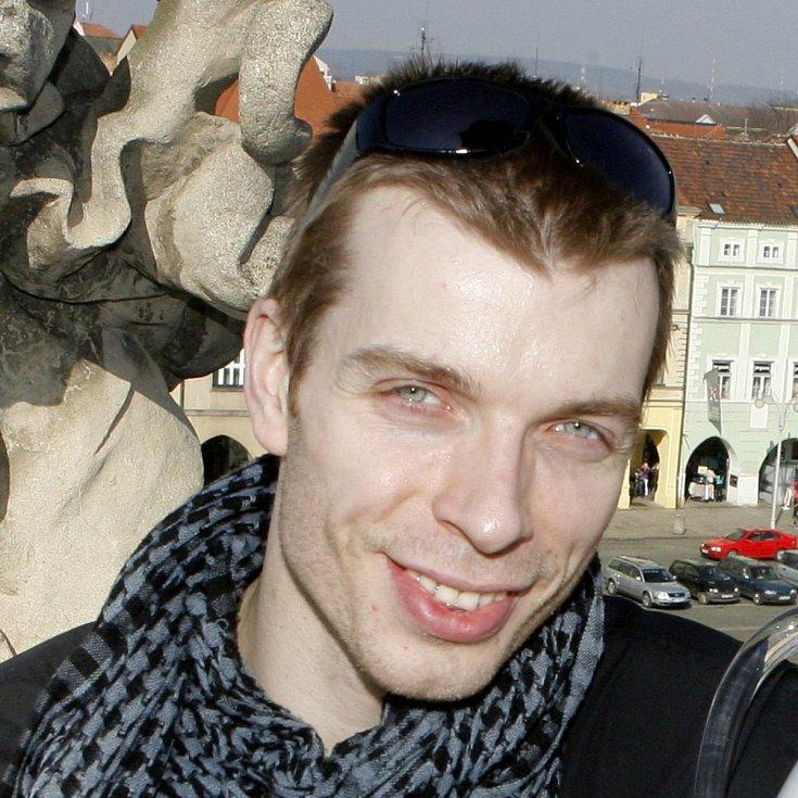 Zdeněk Mládek, tanečník, sólista souboru baletu Jihočeského divadla, České Budějovice.