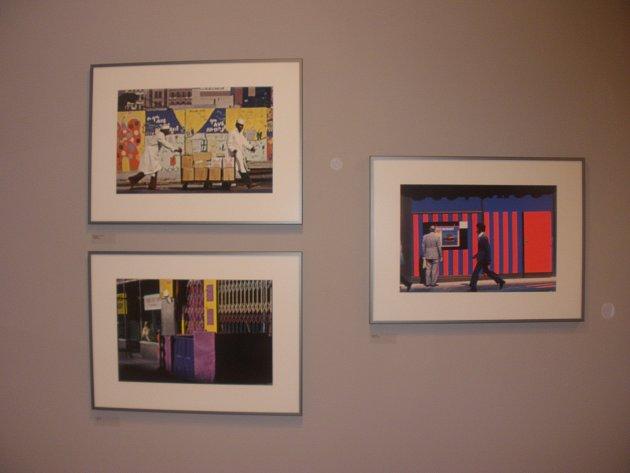 Expozice snímků Jana Lukase.
