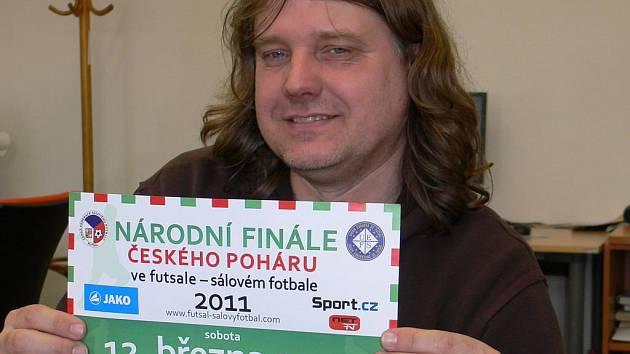 Pro Ladislava Štěpánka, šéfa a duši týmu Tex - Color (ještě loni Remal ČB) je pořádání národního finále poháru v sálovce splněným snem.