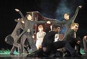 Balet Petra Zusky Klíče odnikud na scéně Jihočeského divadla.