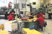 Učni mají k dispozici moderně vybavené centrum.