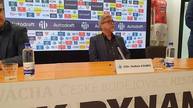 Majitel Dynama Vladimír Koubek.