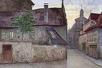 KDYSI: Kněžská podle G. Braunera po roce 1904.