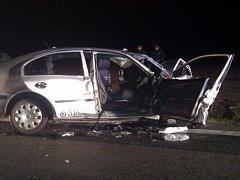 Tragická dopravní nehoda se udála v noci na sobotu na hlavní silnici mezi Krasejovkou a křižovatkou u Holkova.