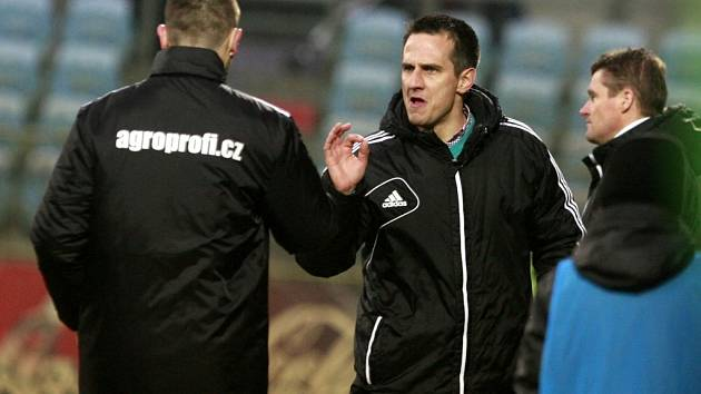 Utkání 22. kola Gambrinus ligy mezi SK Dynamo České Budějovice a 1.FK Příbram.