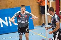 Josef Polák měl po utkání jako odchovanec Jihostroje velikou radost.